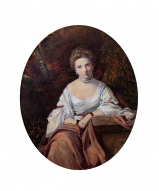 Henry Edridge ARA (1768-1821) 'Nelly O'Brien'