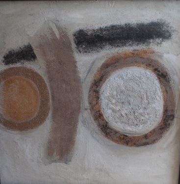 David Carr (1915-65) 'Composition in Brown'