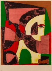 Anthony Quinn (1916-2001)  'Abstract 2'