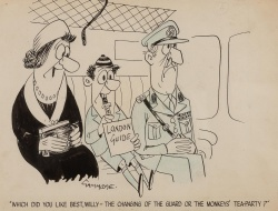 Ian Gammidge (1916-2005) 'War Cartoon'