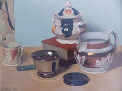 Cecil Hay (1899-1974) 'A collection of lustreware'