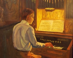 Henry Grub (1888-1963) 'The church organ player'