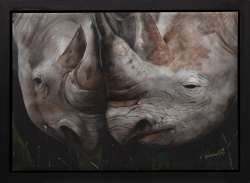 Paul Karslake (1958-2020) 'Rhino Love'